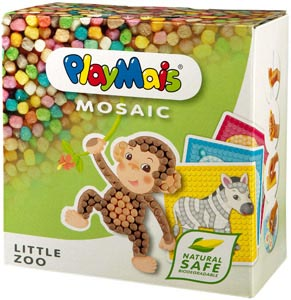PlayMais Little Zoo Packung (Zootiere)